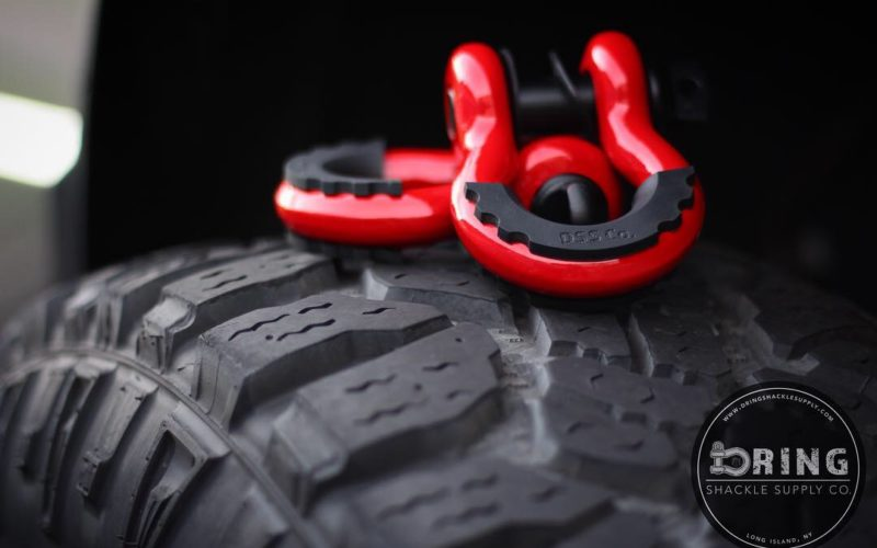 Off Roading With your D Ring Shackle